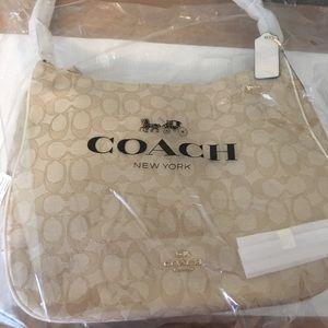 Coach Purse in khaki